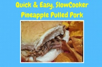 Quick & Easy, Slow-Cooker Pineapple Pulled Pork