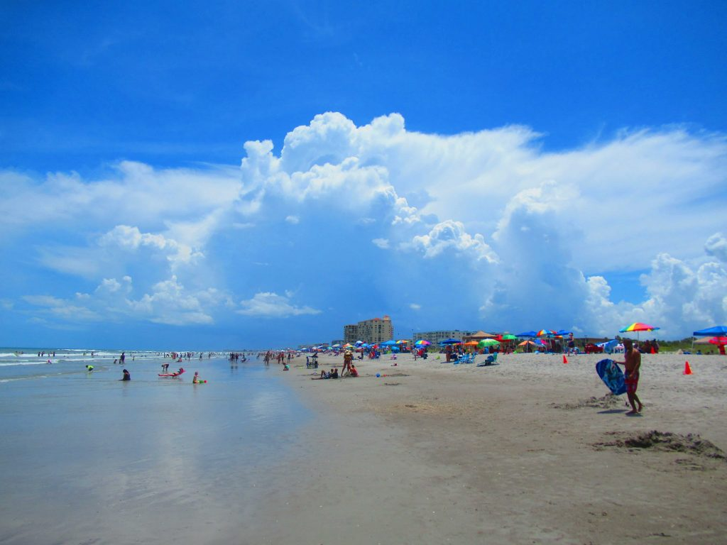 Visiting the beach in Florida may be one of the most fun and affordable things to do in Orlando on vacation.