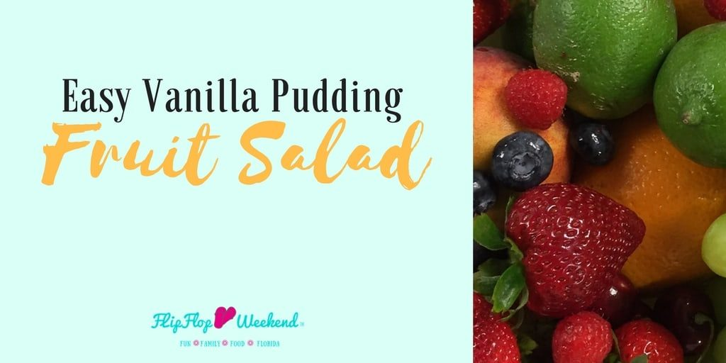 Use any fruit you like in this super easy fruit salad recipe, which comes together using one special ingredient- instant vanilla pudding.