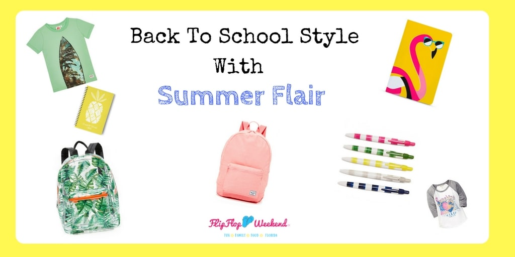 Beat Back To School Blues With Summer Flair