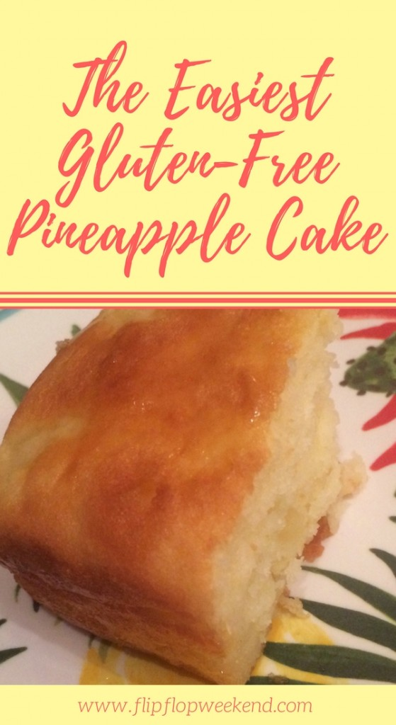 This gluten-free pineapple cake recipe is so easy to make, using a gluten-free cake mix as the base!