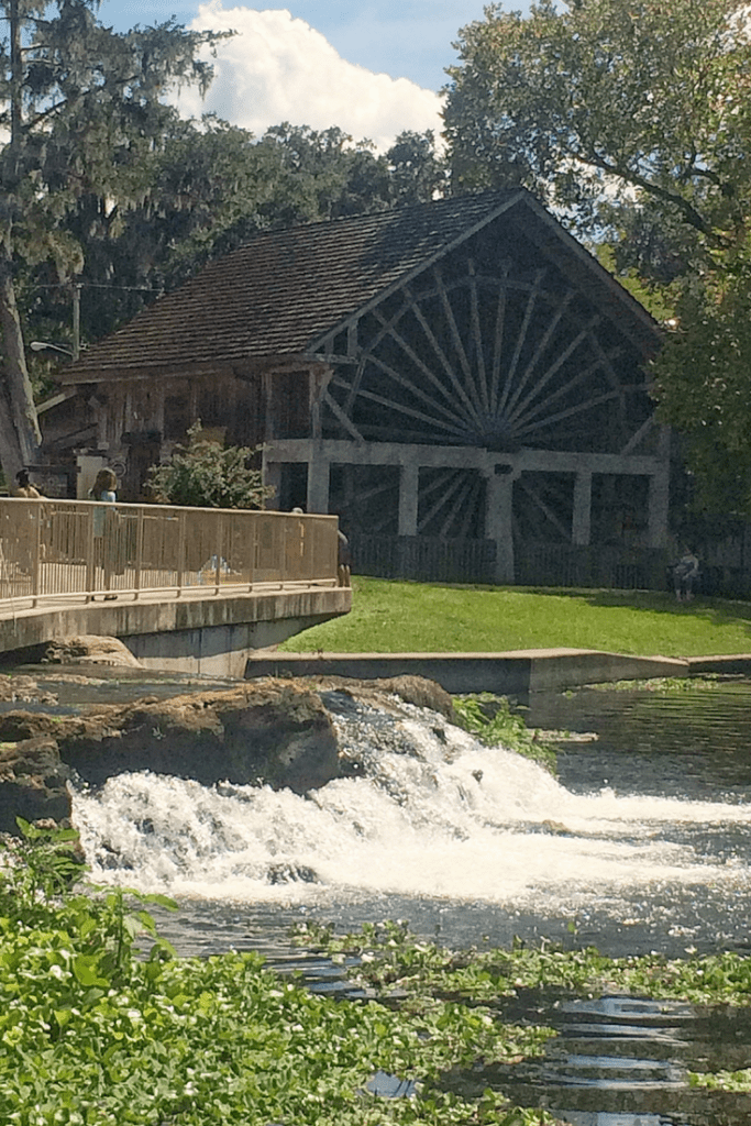 The Old Spanish Sugar Mill and Griddle House in DeLeon Springs State Park