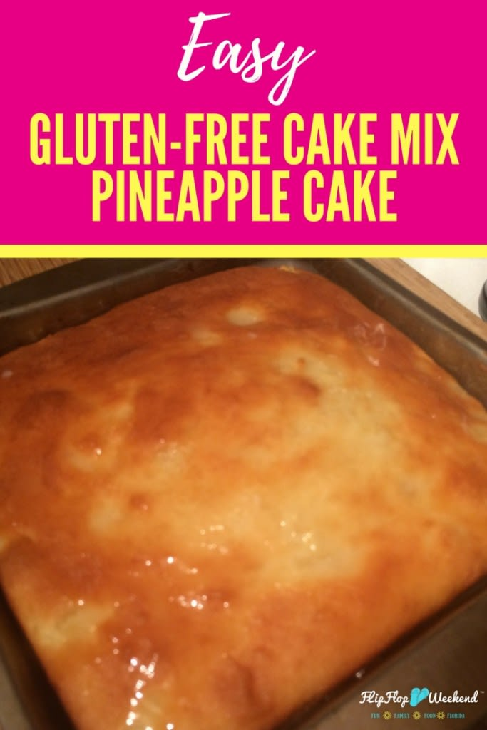The Easiest Gluten Free Pineapple Cake You Could Ever Make