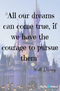 Courage Quote From Walt Disney
