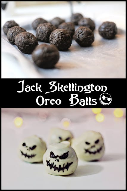 These bite-sized Disney themed Oreo Balls are the perfect Halloween Treat