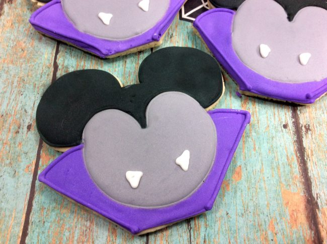 These Vampire Mickey Mouse Cookies from Patty over at My No-Guilt Life, would put Dracula himself into a magical Disney mood!