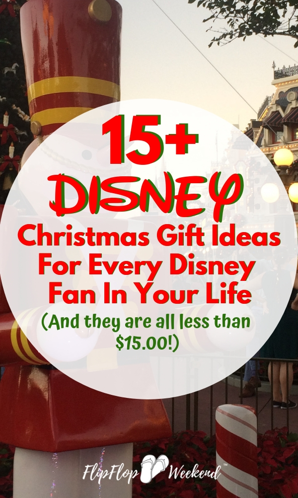 These affordable Disney Christmas Gift Ideas will bring a little magic home to your favorite Disney fans on Christmas morning. #flipflopweekend