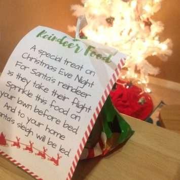 Reindeer Food Christmas Tradition For Kids