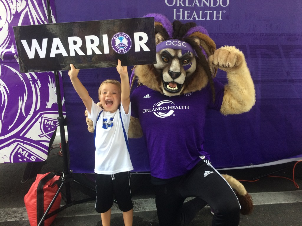 The Orlando City Soccer Club is just one of the fantastic sports teams that Orlando has to offer.