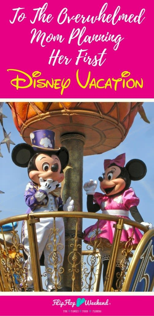 If you are overwhelmed planning your Disney vacation, remember that it is important for you to enjoy the magic, too.