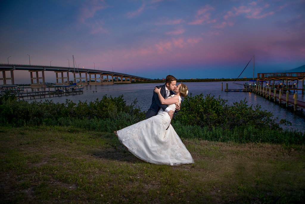 The Night Swan Bed and Breakfast is a beautiful venue for your beach wedding in New Smyrna Beach, Florida