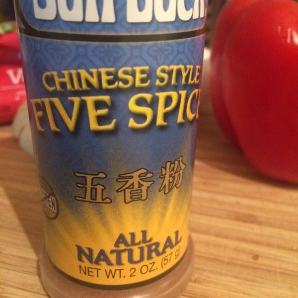 Chinese Five Spice is a potent blend of spices used in Asian cooking