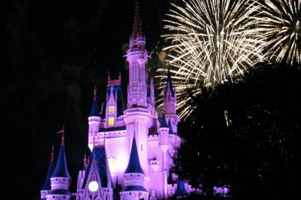 Wondering how you can see the Magic Kingdom fireworks for free? Check out a hidden, secret spot at Walt Disney World to view the Magic Kingdom fireworks without having to purchase a park ticket.