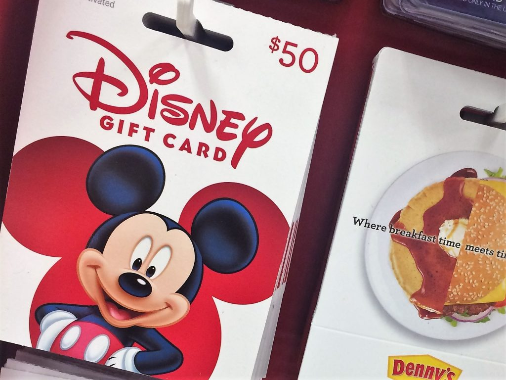 Save money on your Disney Vacation by using gift cards to purchase your Disney Tickets.