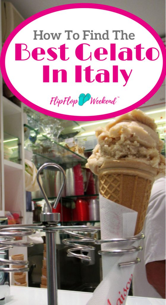 When visiting Italy, you want authentic gelato, Italian Ice Cream. This post explains how to make sure you don't get ripped off on Gelato on your next Italian vacation