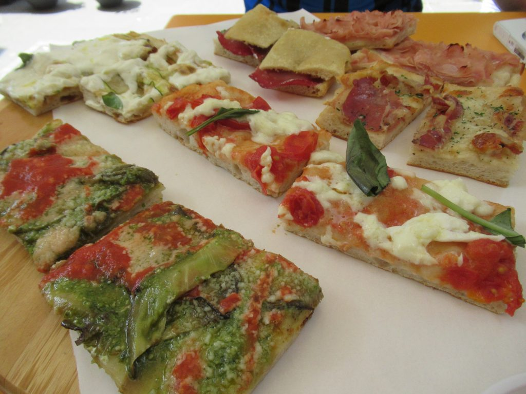 Pizza Zizza sampler