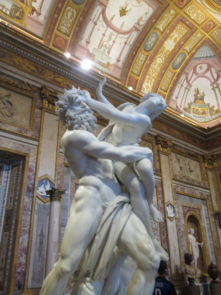 The Rape of Proserpina (1621-22), Gian Lorenzo Bernini