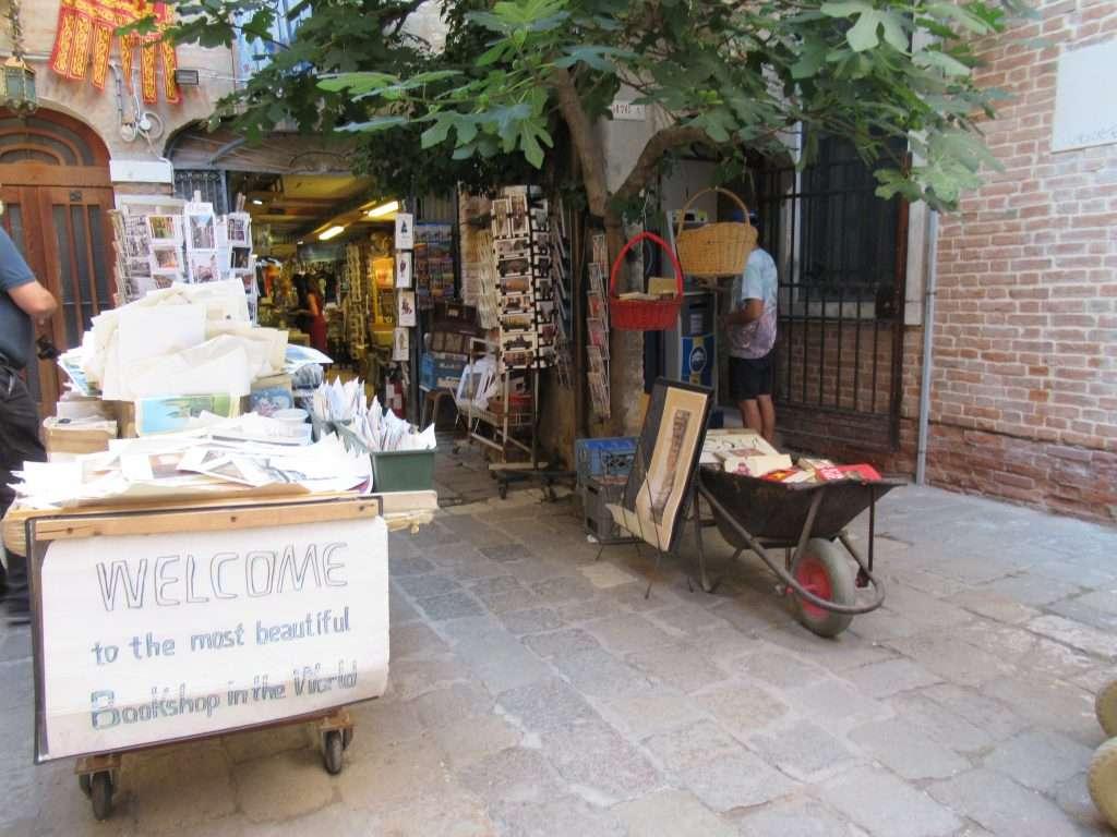 Libreria Acqua Alta-Venice, Italy