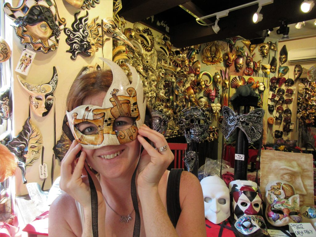 Ask locals for recommendations on where to find authentic souvenirs. Hint: If the mask is ceramic...it's a no-go