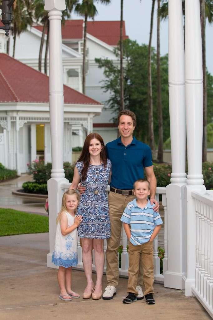 Family Photo Session at Walt Disney World