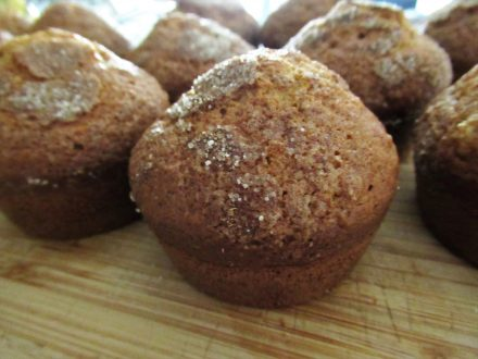 Back To School Banana Bread Muffins