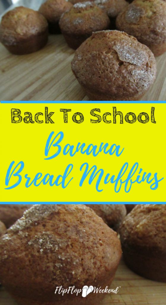 Overly ripe bananas can easily be made into delicious banana bread muffins for the perfect quick and easy grab and go breakfast.
