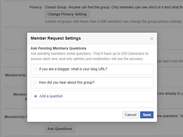 A Facebook cover created in Canva is an easy way to help your Facebook group stand out.