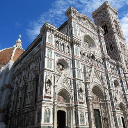 The Florence Cathedral in Florence, Italy.