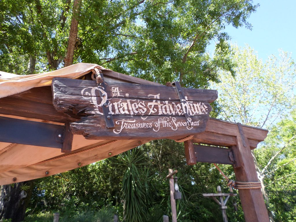Similar to Sorcerer's Of The Magic Kingdom, the Pirate's League Adventure is a FREE scavenger hunt experience through Adventureland at Walt Disney World's Magic Kingdom.