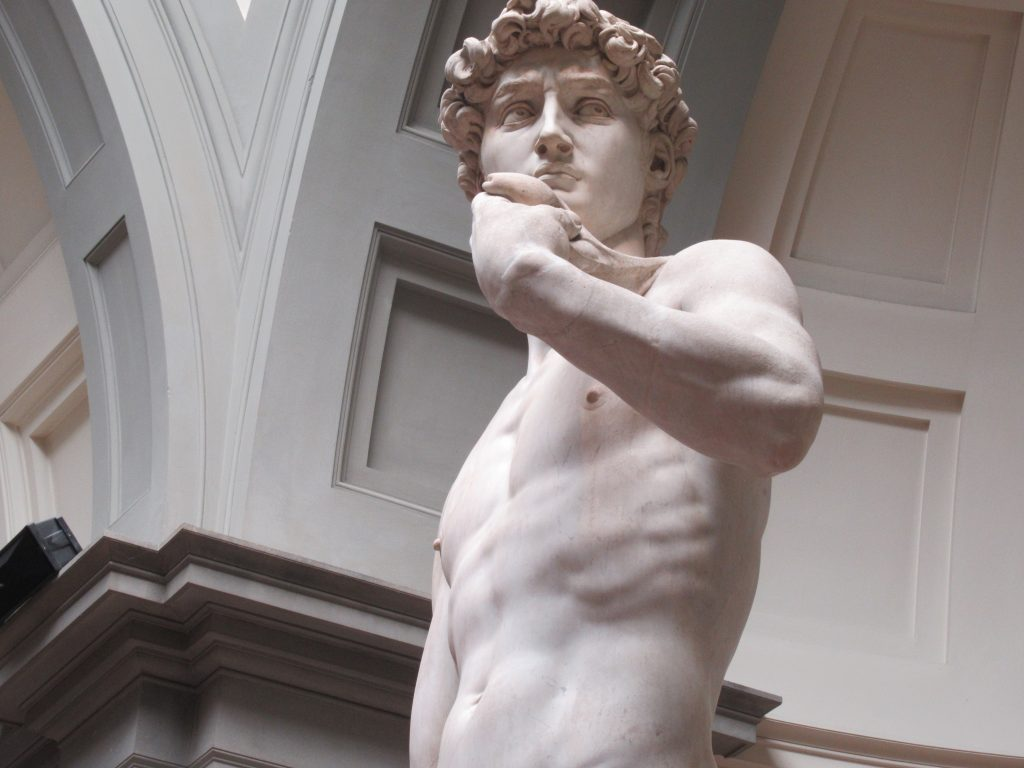 A visit to Michelangelo's Statue of David should be on your must-do list when you visit Florence, Italy.