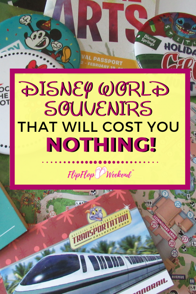 Trying to stick to your budget at Disney World? This post features tips on finding the best free and cheap Disney World Souvenirs during your next Walt Disney World Vacation! #disneytravel