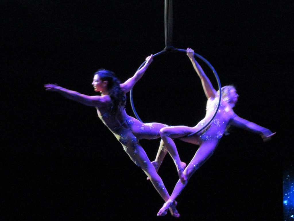 Trapeze Artists - WOW: The Vegas Spectacular