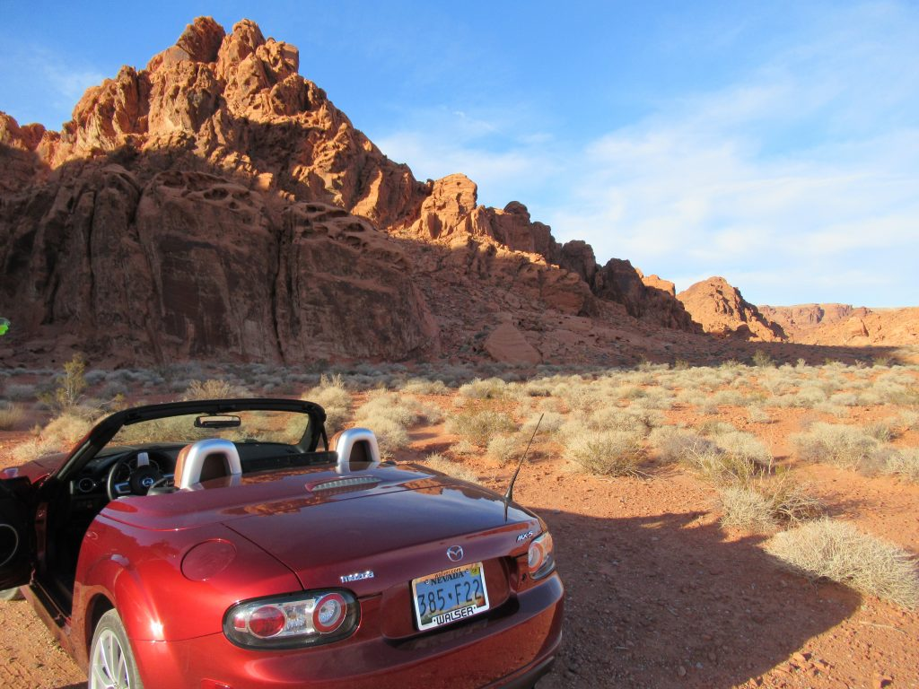 Take a drive through the Valley of Fire State Park