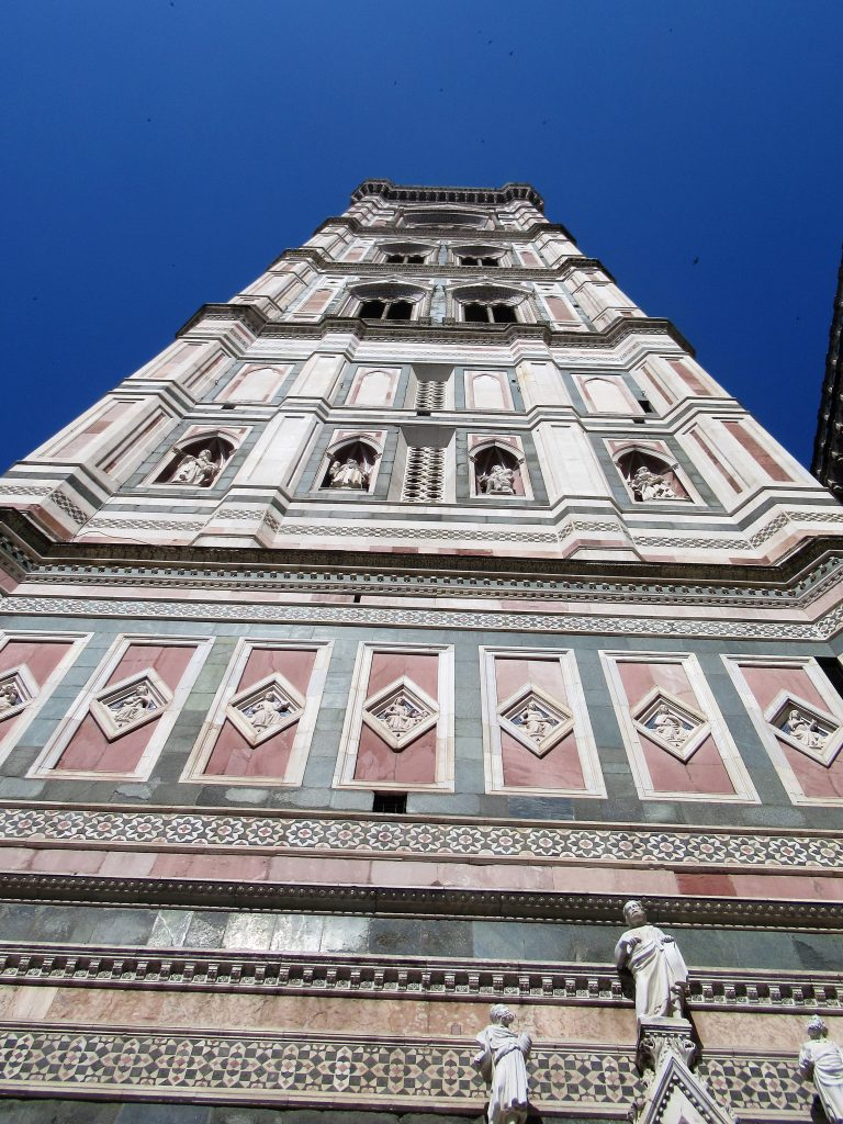 Completed in 1359, the official name is Giotto's Campanile, named after the original architect who designed it.