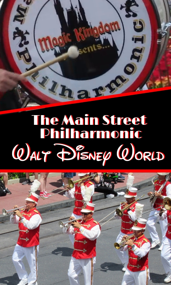The Main Street Philharmonic at Walt Disney World's Magic Kingdom is an extra Disney attraction that adds to the ambiance and magic that is Disney. #FlipFlopWeekend
