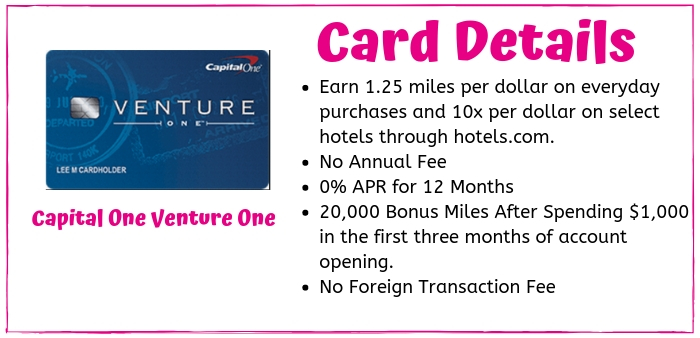 The CapitalOne Venture One Card from American Express is a great no-hassle credit card for travel rewards for borrowers with good to excellent credit scores.