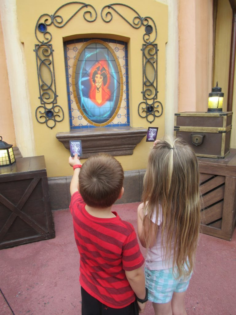 Sorcerers of the Magic Kingdom is great for young kids who many not want to ride at Walt Disney World.