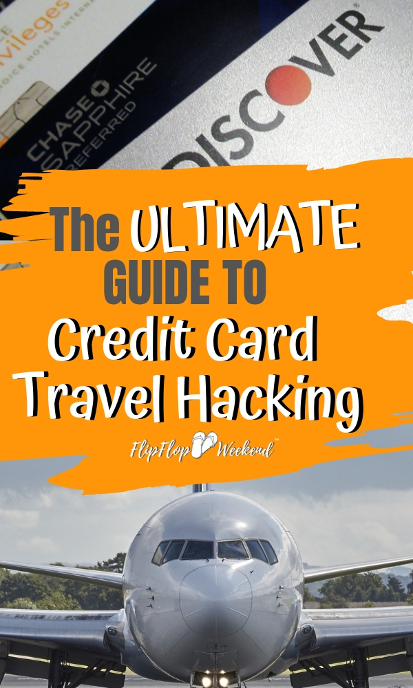 Dramatically reduce your travel costs by learning how to use reward points and travel card sign on bonuses to earn cheap and free airfare and hotel rooms. This room is a guide with tips for beginner travel hackers. #flipflopweekend