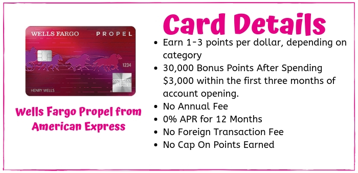 The Wells Fargo Propel Card from American Express is a great no-hassle credit card for travel rewards for borrowers with good credit.