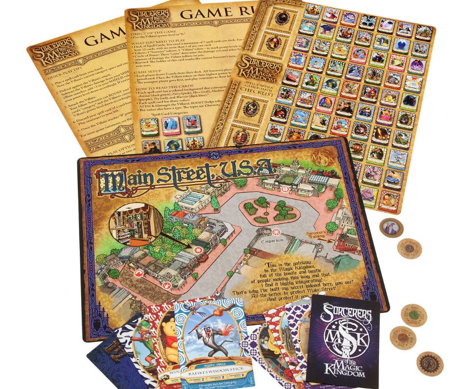 Sorcerer's of the MK Game at ShopDIsney