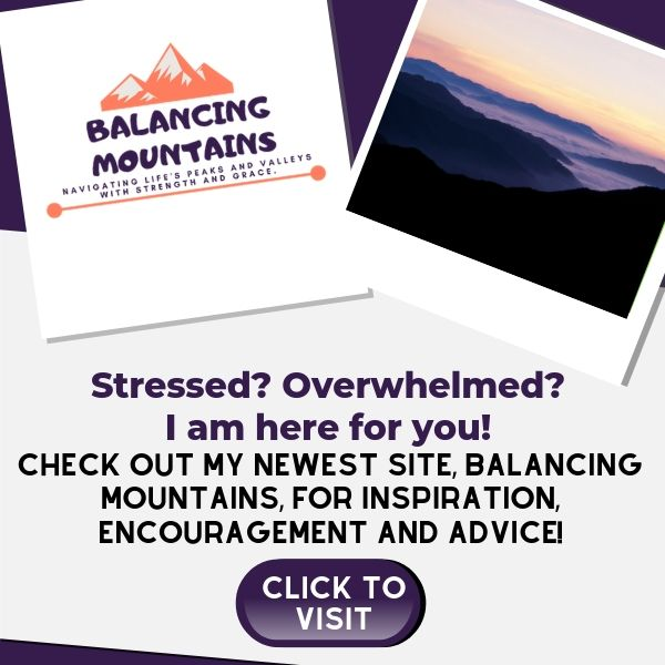 Find encouragement and inspiration on Balancing Mountains.com
