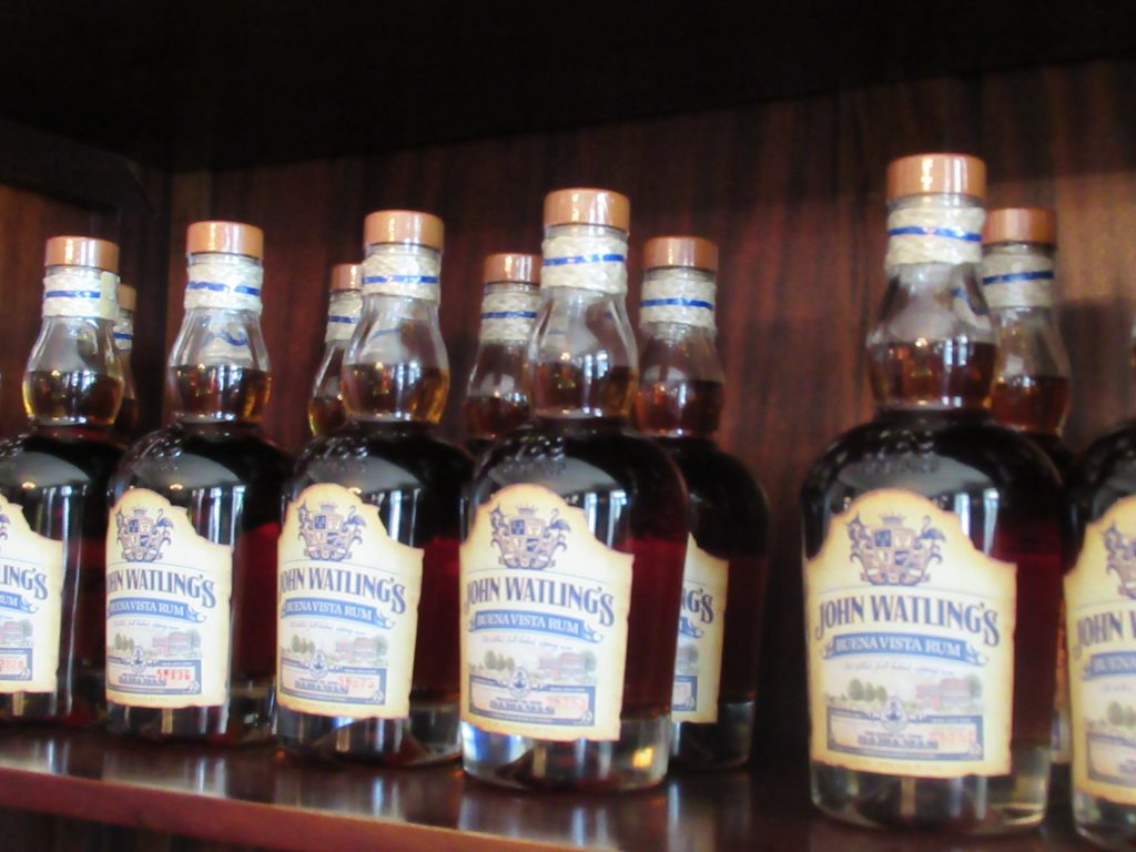 Rum at John Watling's Distillery