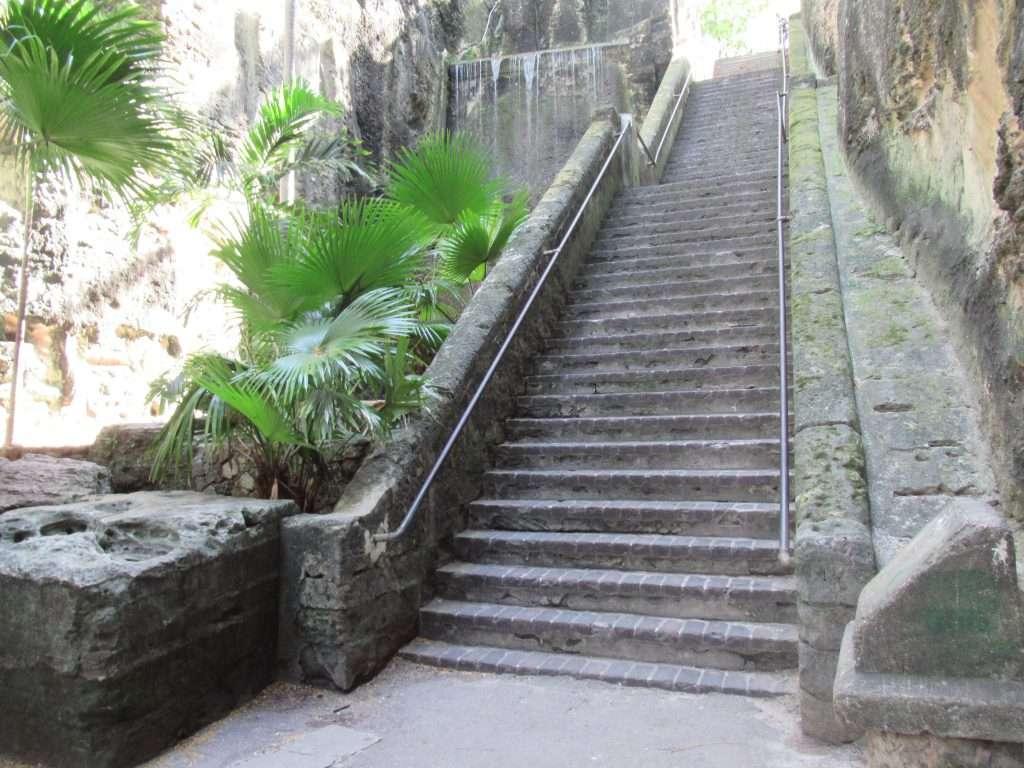 The Queen's Staircase, Nassau Bahamas