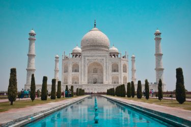 Taj Mahel is one place you can visit virtually from home