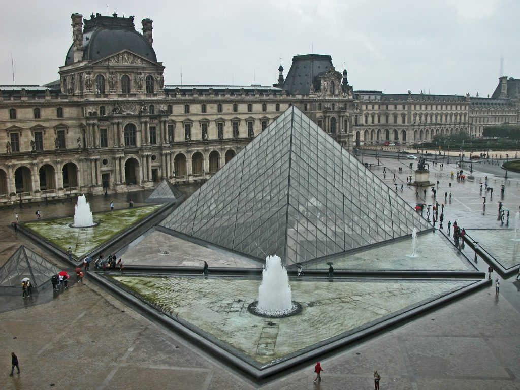 The Louvre Museum in Paris France