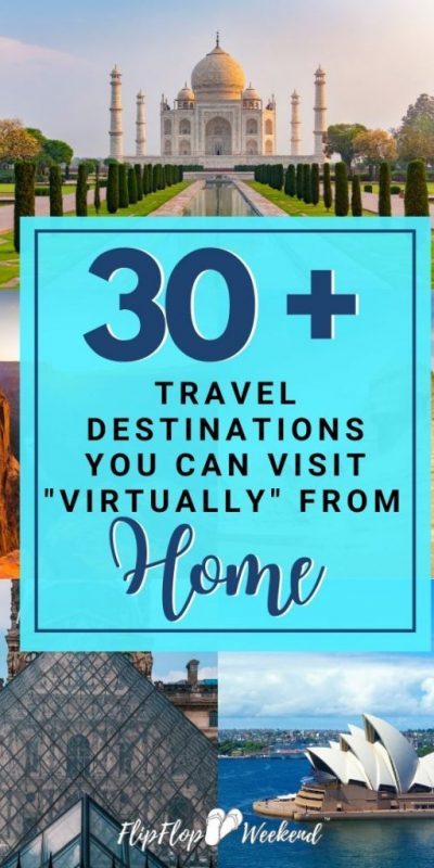 Enjoy over 30 museum tours and virtual travel experiences from every continent, right from the comfort of home. #virtualtravel #travel #digitaltravel #covid19